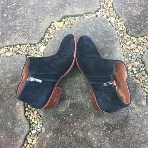 Sam Edelman ankle black boots